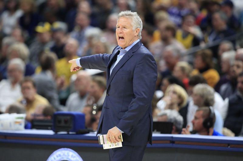 Coach Brett Brown