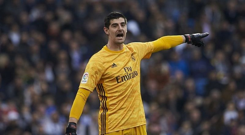 A not-so-busy but disappointing night for Thibaut Courtois