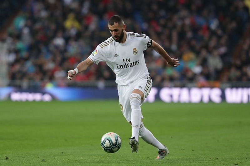 Real Madrid striker Karim Benzema against Levante was off colour