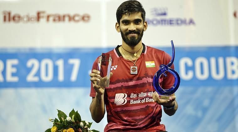 Kidambi Srikanth - Moves up 5 places in Olympic Qualification Rankings