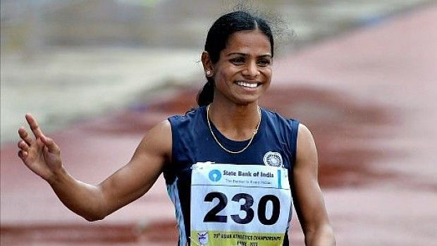 Dutee Chands sprints to 100m Gold at the Khelo India University Games