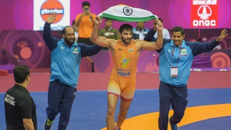 सुनील कुमार ने भारत को 27साल बाद ग्रीको-रोमन में स्वर्ण दिलवाया