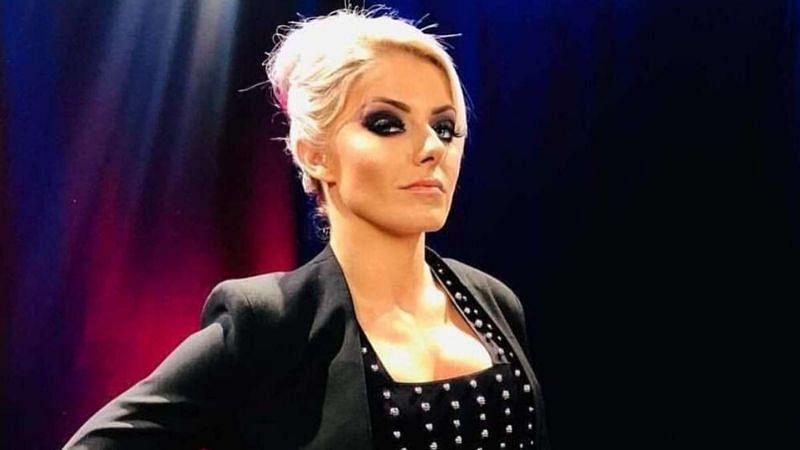 Alexa Bliss hosted WrestleMania 35