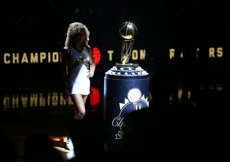 The Toronto Raptors will be looking to defend their trophy in June