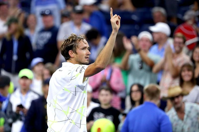 Daniil Medvedev is the highest ranked player in this tournament