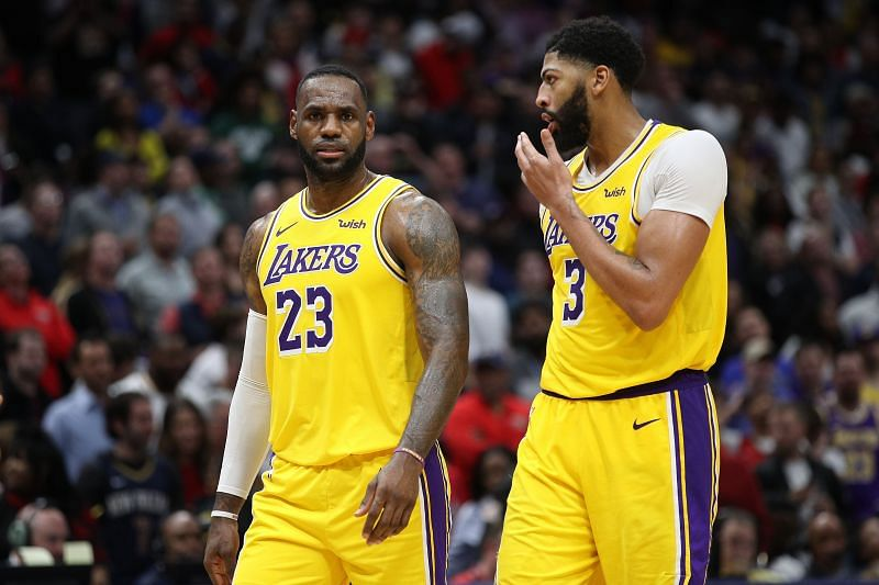 Anthony Davis and LeBron James will team up for the All-Star Game