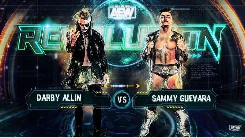 Darby Allin vs Sammy Guevara