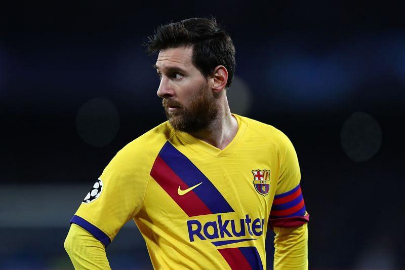 Lionel Messi had an average performance against the Italian club last night.