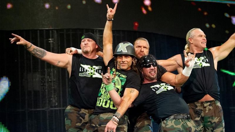 D -Generation X during the RAW 1000 show