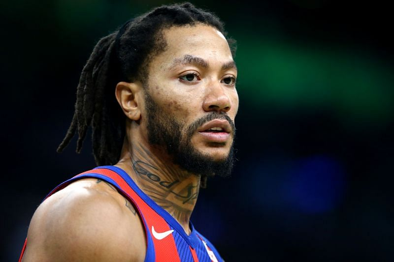 Derrick Rose is among the players that are being linked with an exit from the Pistons