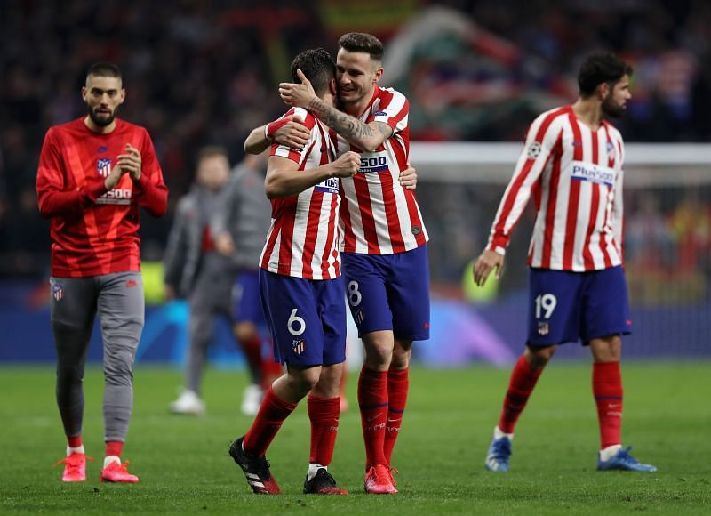 Atletico Madrid take a one-goal cushion to Anfield