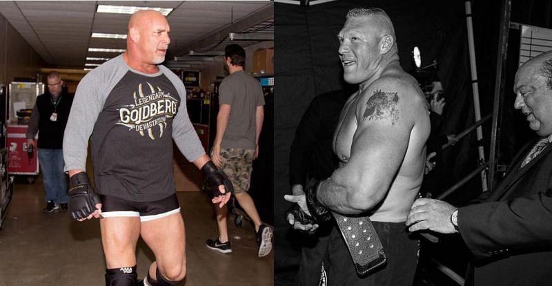 Goldberg and Lesnar