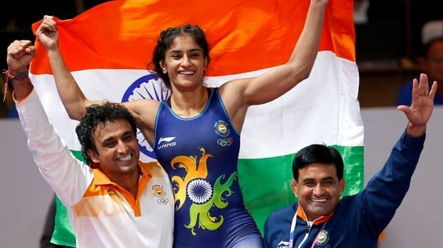 Vinesh Phogat clinched a gold medal at the 2018 Asian Games