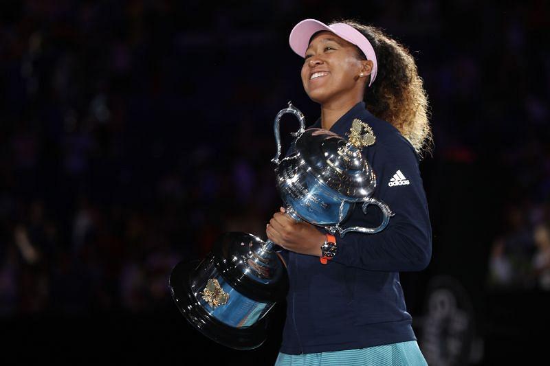 Osaka won the Australian Open in 2019