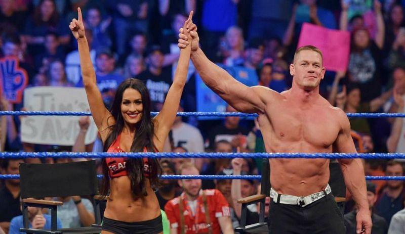 Cena proposed Nikki at WrestleMania 33