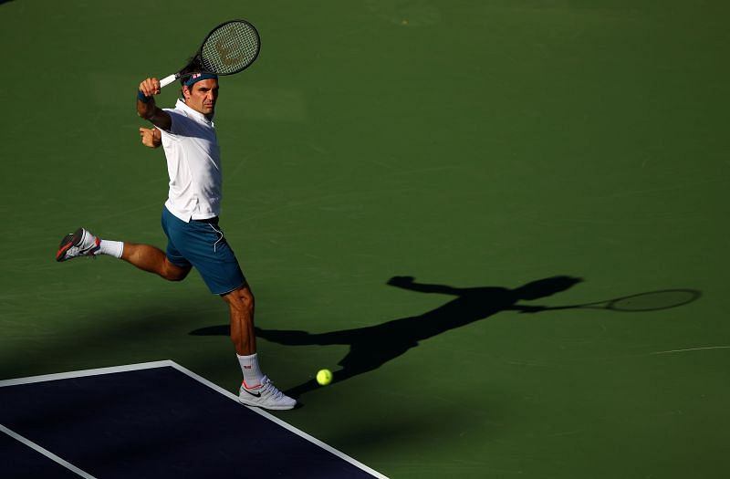 Federer at last year