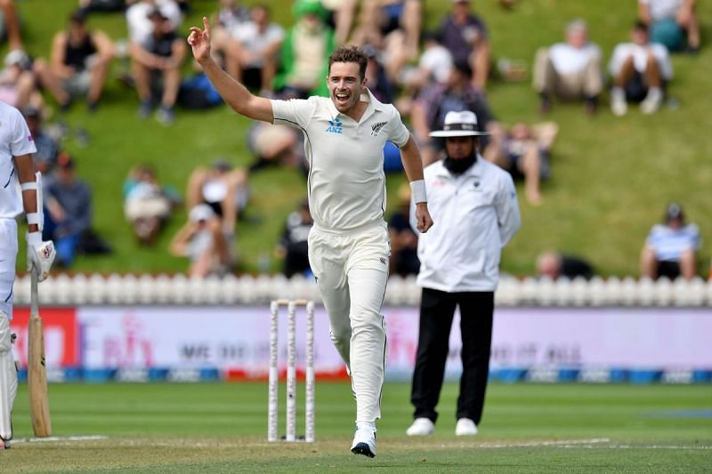 Southee took five wickets in the second innings of the first Test.