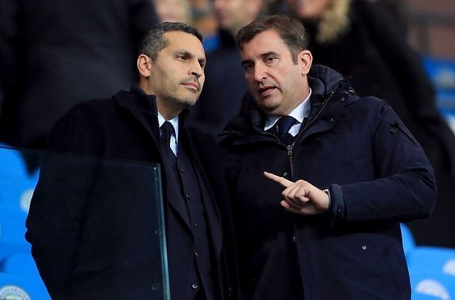 City CEO Ferran Soriano (right) is confident that their CAS appeal will have a positive outcome