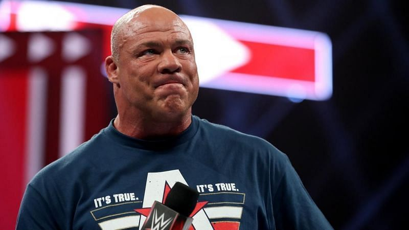 Kurt Angle has been in pain for years