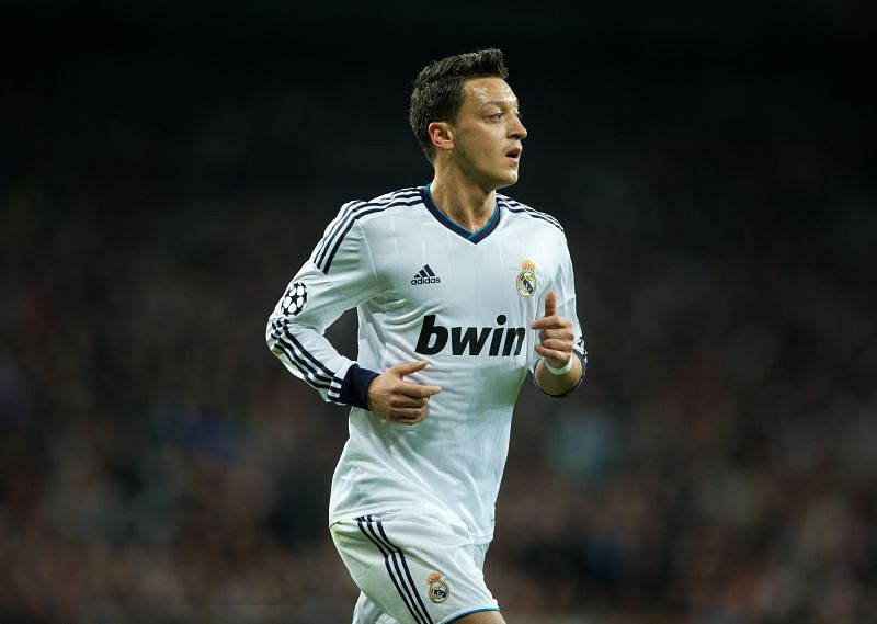 Özil won the only league title of his career in the colours of Real Madrid
