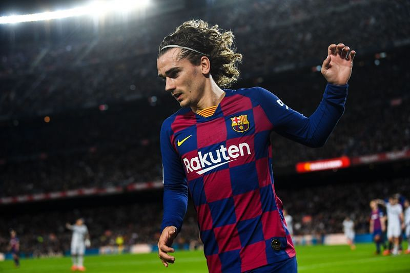 With Suarez injured, Antoine Griezmann is Barcelona