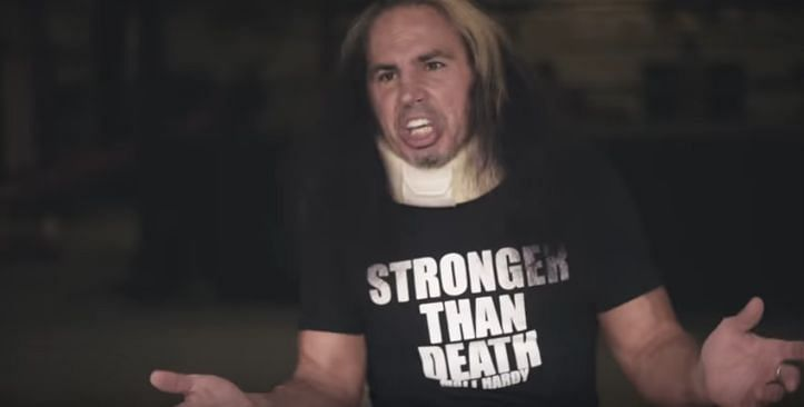 Matt Hardy is rebirthing? (Pic Source: Matt Hardy Brand YouTube)