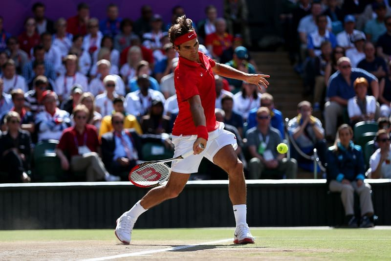 Federer was a silver medalist at 2012