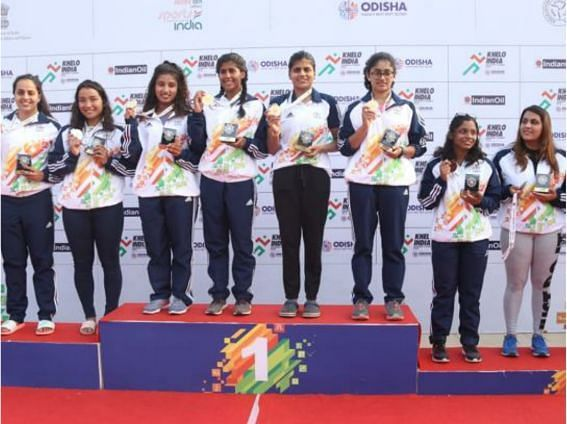 The winners of the women