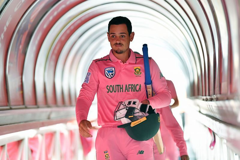 Quinton de Kock averages more than 50 as captain of South Africa