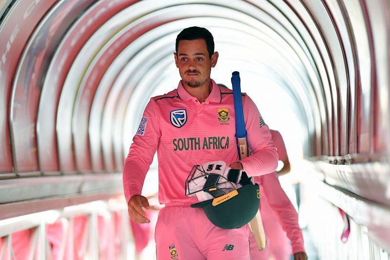Quinton de Kock averages more than 50 as captain of South Africa