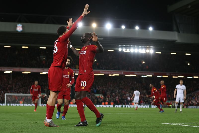 Liverpool equalled Manchester City