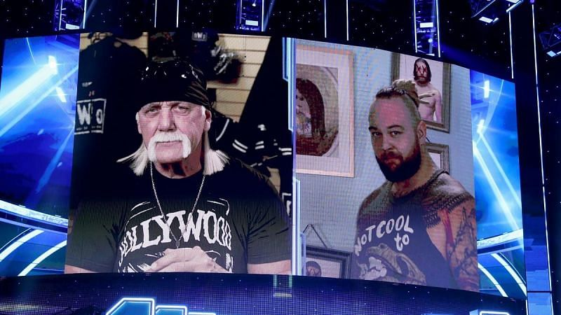 An interesting interaction between the WWE legend and Bray Wyatt