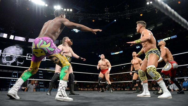 The first-ever NXT North American Championship ladder match