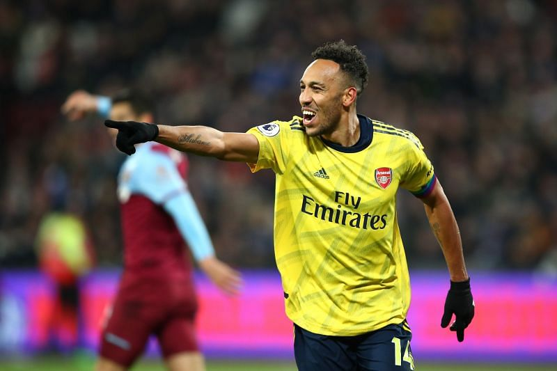 Pierre-Emerick Aubameyang scored a brace in Arsenal