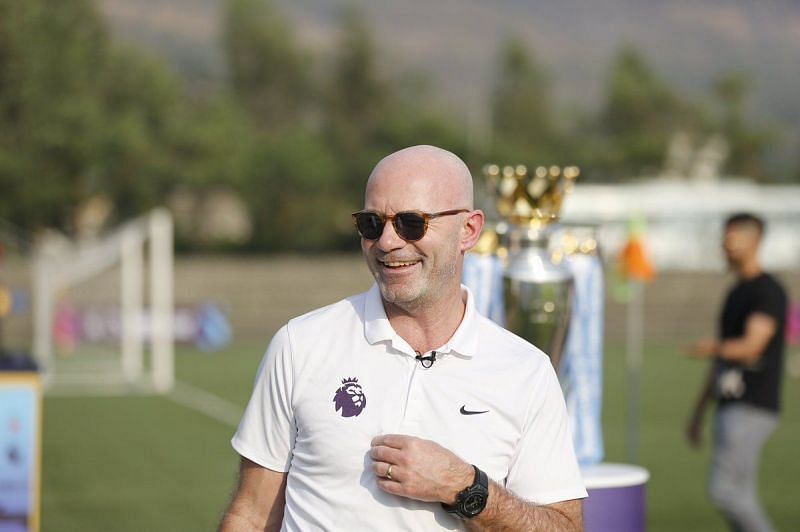 Shearer is in the city to witness the Next Generation Mumbai Cup. (Image credits: Premier League)