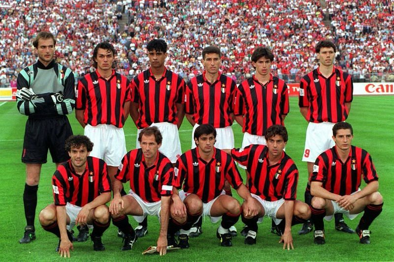 AC Milan in the 1992-93 Champions League