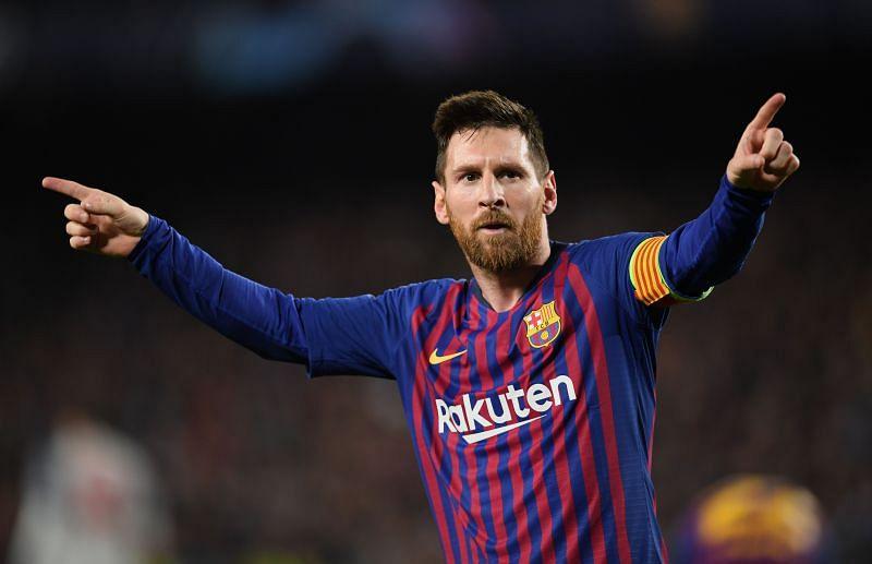 Lionel Messi has enjoyed tremendous success in the UEFA Champions League