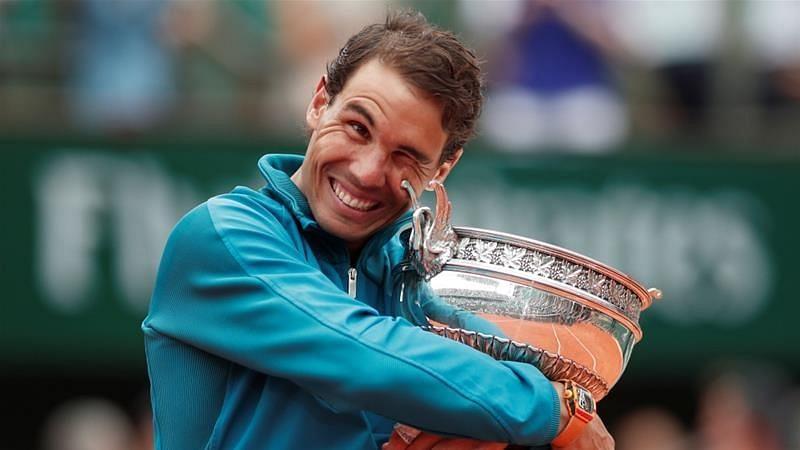 Nadal at 2018 Roland Garros