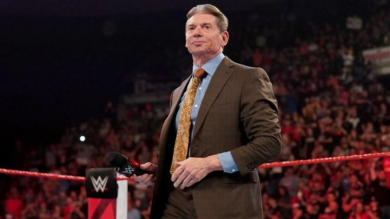 Vince McMahon is the WWE Chairman