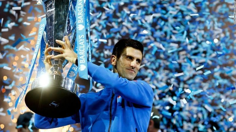 Djokovic lifted his 5th ATP Finals title in 2015