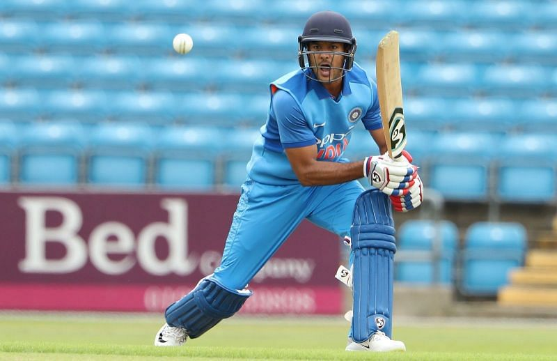 Mayank Agarwal was named as a replacement in the World Cup squad!