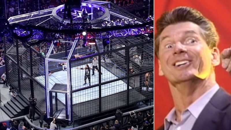 Elimination Chamber/ Vince McMahon