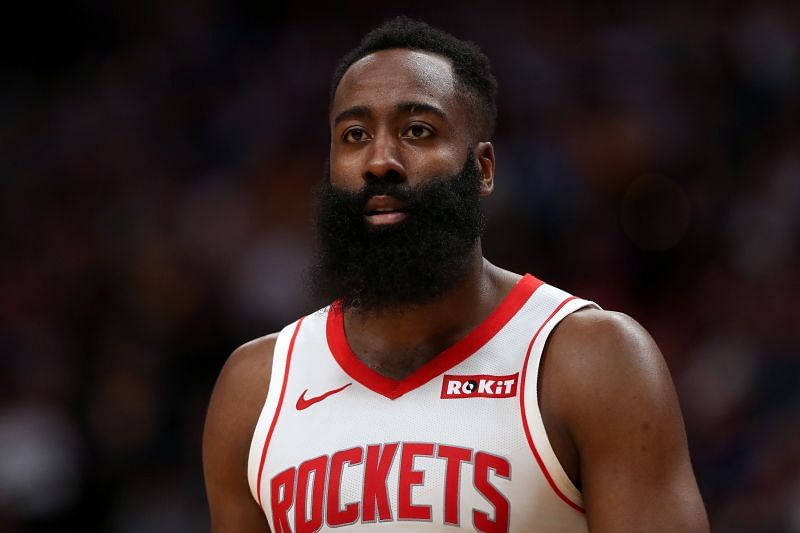 James Harden is averaging 35.2 points, 7.4 assists and 5.4 rebounds in 53 games this season