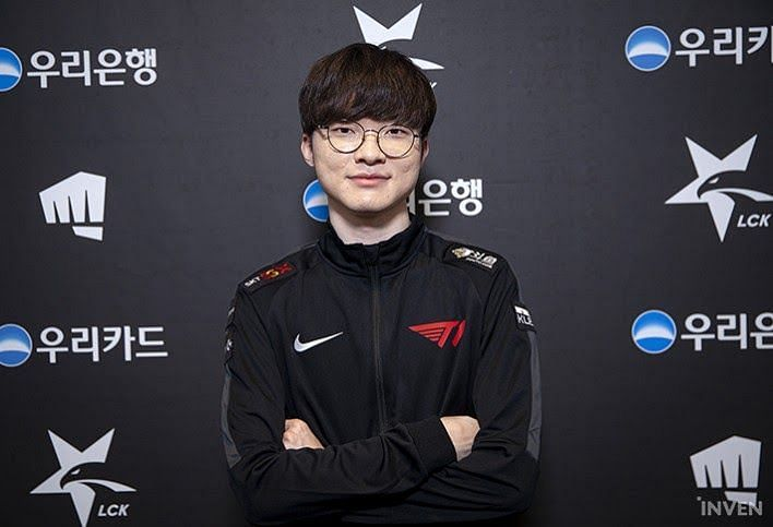Faker signs new contract with T1