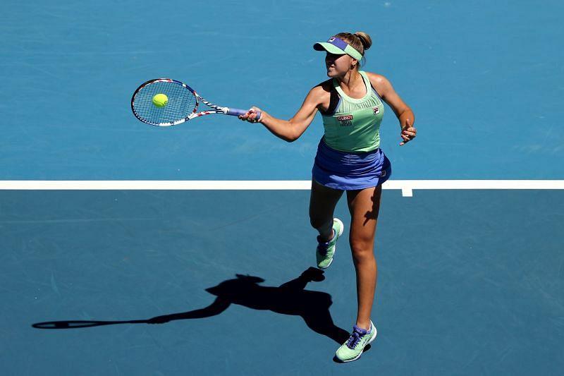 2020 Australian Open Champion Sofia Kenin might face the runner up Garbine Muguruza in the third round.