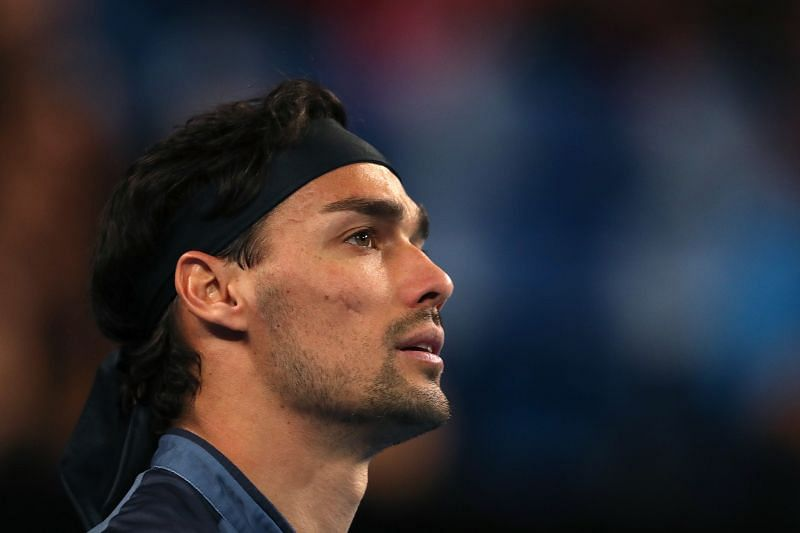 Fabio Fognini is the fifth seed in this year