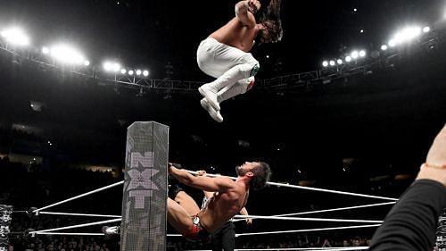 Johnny Gargano vs Andrade from NXT Takeover: Philadelphia