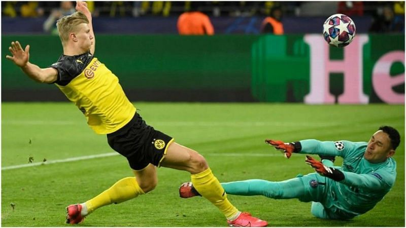 Dortmund defeated PSG in the Champions League