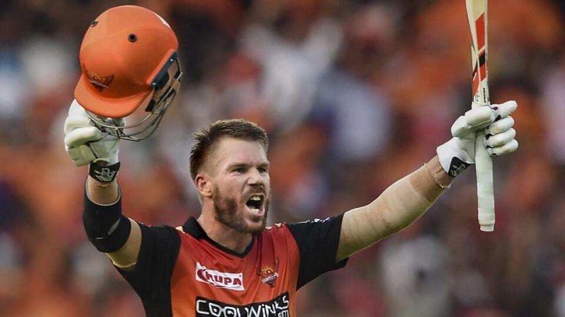 David Warner has scored four hundreds in IPL cricket.
