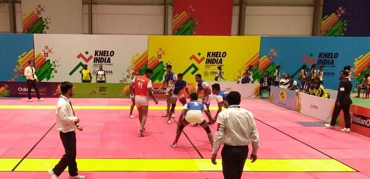 Kabaddi competition in KIUG 2020 underway